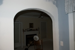 Family Room - Entryway - Arch Install-2100